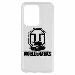 Чохол для Samsung S20 Ultra Логотип World Of Tanks