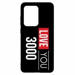 Чехол для Samsung S20 Ultra Love 300
