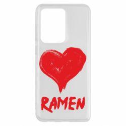 Чохол для Samsung S20 Ultra Love ramen