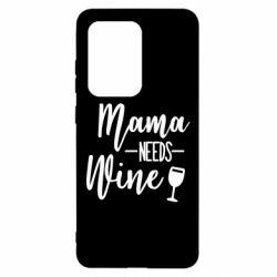 Чохол для Samsung S20 Ultra Mama need wine