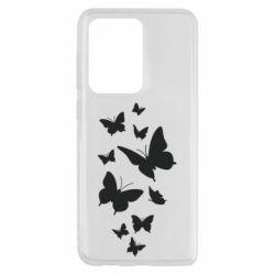 Чохол для Samsung S20 Ultra Many butterflies