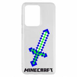 Чохол для Samsung S20 Ultra Меч Minecraft