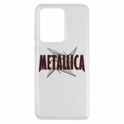 Чохол для Samsung S20 Ultra Логотип Metallica