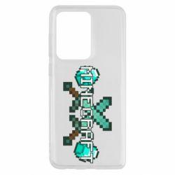 Чохол для Samsung S20 Ultra Minecraft алмазний меч
