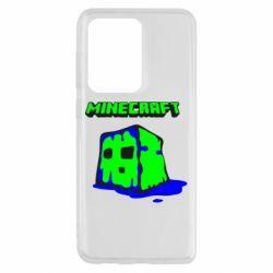 Чохол для Samsung S20 Ultra Minecraft Head