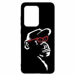 Чохол для Samsung S20 Ultra Monkey in red glasses