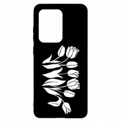 Чохол для Samsung S20 Ultra Monochrome tulips