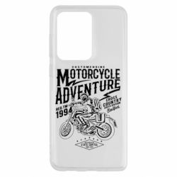 Чехол для Samsung S20 Ultra Motorcycle Adventure