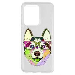 Чохол для Samsung S20 Ultra Multi-colored dog with glasses