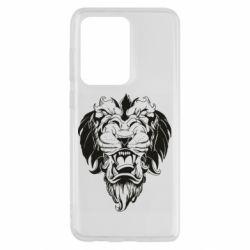 Чохол для Samsung S20 Ultra Muzzle of a lion