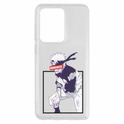Чехол для Samsung S20 Ultra Naruto Hokage glitch