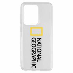 Чохол для Samsung S20 Ultra National Geographic logo