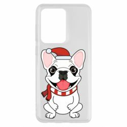 Чехол для Samsung S20 Ultra New Year's French Bulldog