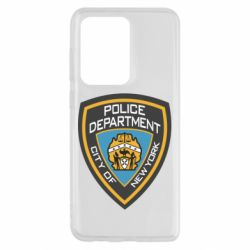 Чехол для Samsung S20 Ultra New York Police Department