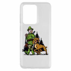 Чохол для Samsung S20 Ultra Мисливець з собакою