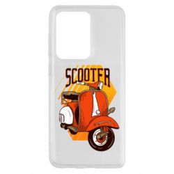 Чохол для Samsung S20 Ultra Orange scooter