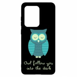 Чехол для Samsung S20 Ultra Owl follow you into the dark