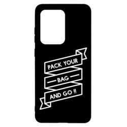 Чехол для Samsung S20 Ultra Pack your bag and go