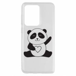 Чохол для Samsung S20 Ultra Panda and heart