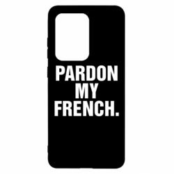 Чехол для Samsung S20 Ultra Pardon my french.