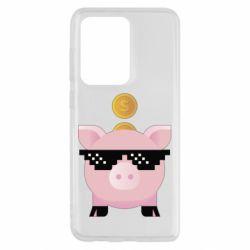 Чохол для Samsung S20 Ultra Piggy bank