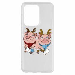 Чохол для Samsung S20 Ultra Pigs