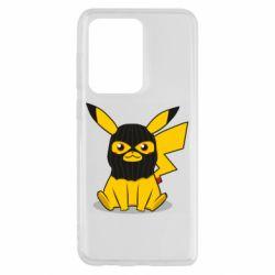 Чохол для Samsung S20 Ultra Pikachu in balaclava