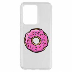 Чехол для Samsung S20 Ultra Пончик Гомера