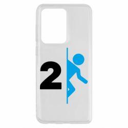 Чехол для Samsung S20 Ultra Portal 2 logo