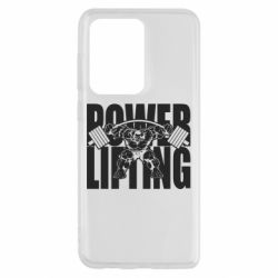 Чохол для Samsung S20 Ultra Powerlifting logo