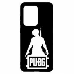 Чехол для Samsung S20 Ultra PUBG logo and hero