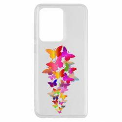 Чохол для Samsung S20 Ultra Rainbow butterflies
