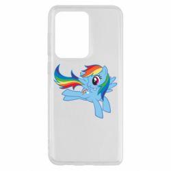 Чохол для Samsung S20 Ultra Rainbow Dash run