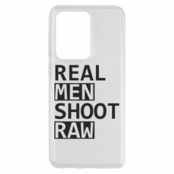 Чохол для Samsung S20 Ultra Real Men Shoot RAW