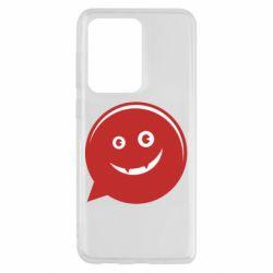 Чехол для Samsung S20 Ultra Red smile