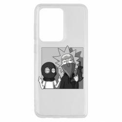 Чехол для Samsung S20 Ultra Rick and Morty Bandits