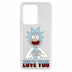 Чохол для Samsung S20 Ultra Rick and Morty fack and love you