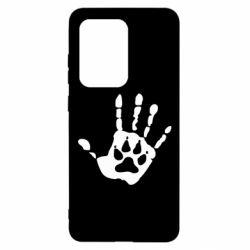 Чехол для Samsung S20 Ultra Рука волка