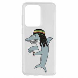 Чохол для Samsung S20 Ultra Shark Rastaman