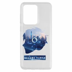 Чохол для Samsung S20 Ultra Silhouette City Detroit: Become Human