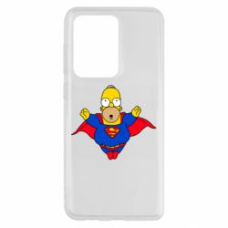 Чехол для Samsung S20 Ultra Simpson superman