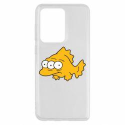 Чехол для Samsung S20 Ultra Simpsons three eyed fish