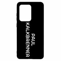 Чохол для Samsung S20 Ultra Singer Paul Kalkbrenner