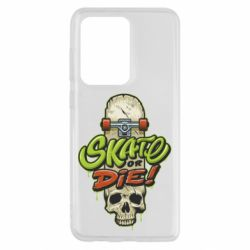Чохол для Samsung S20 Ultra Skate or die skull