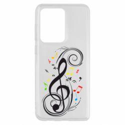 Чехол для Samsung S20 Ultra Скрипичный ключ