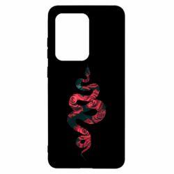 Чохол для Samsung S20 Ultra Snake and roses
