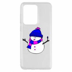 Чохол для Samsung S20 Ultra Сніговик