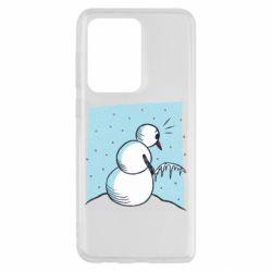 Чохол для Samsung S20 Ultra Snowman. It's Cold!