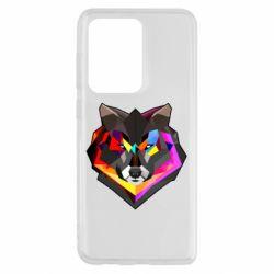 Чехол для Samsung S20 Ultra Сolorful wolf