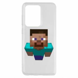 Чехол для Samsung S20 Ultra Steve from Minecraft